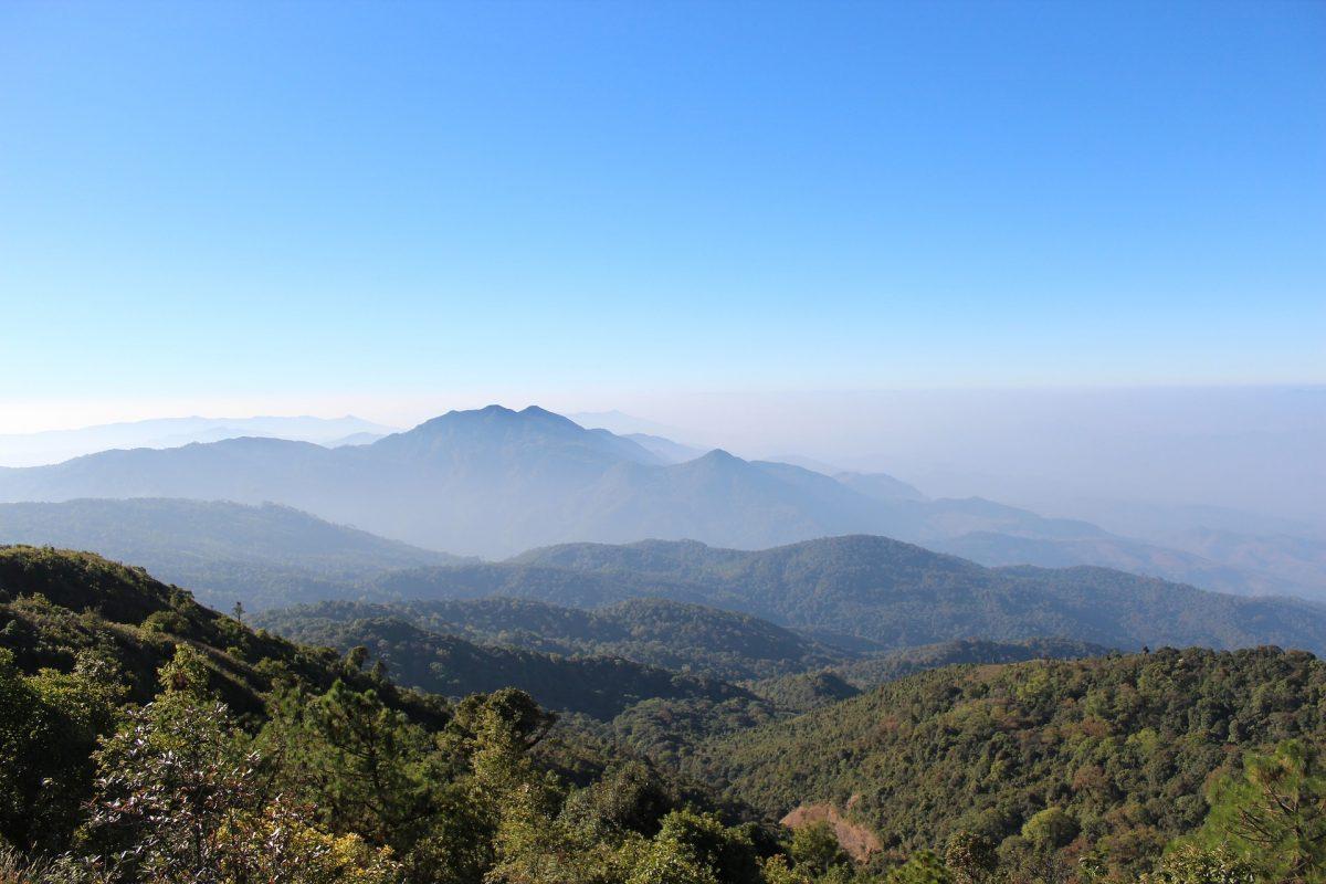 mountain climbing in Chiang Mai