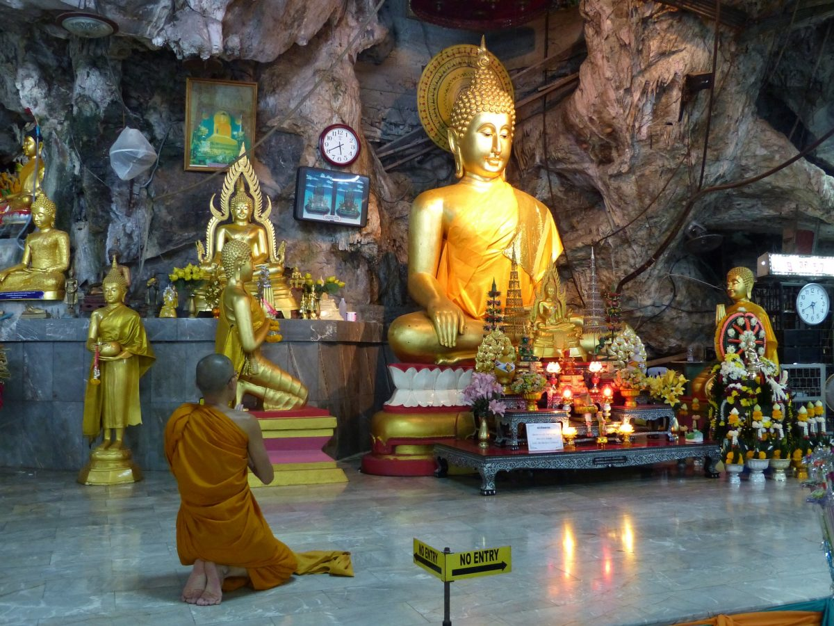 visiting Tiger Cave Temple