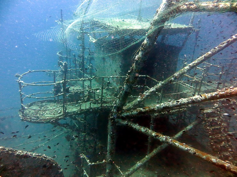 Koh chang ship wreck