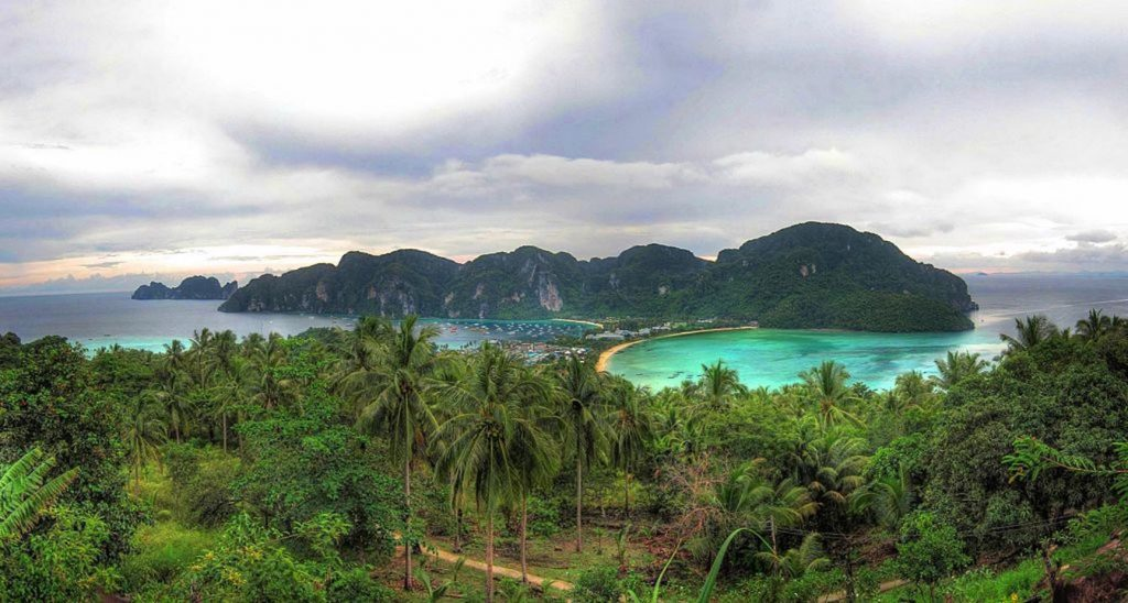 places to see in maya bay