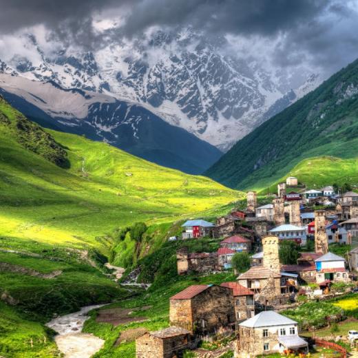 top travel destinations in caucasus