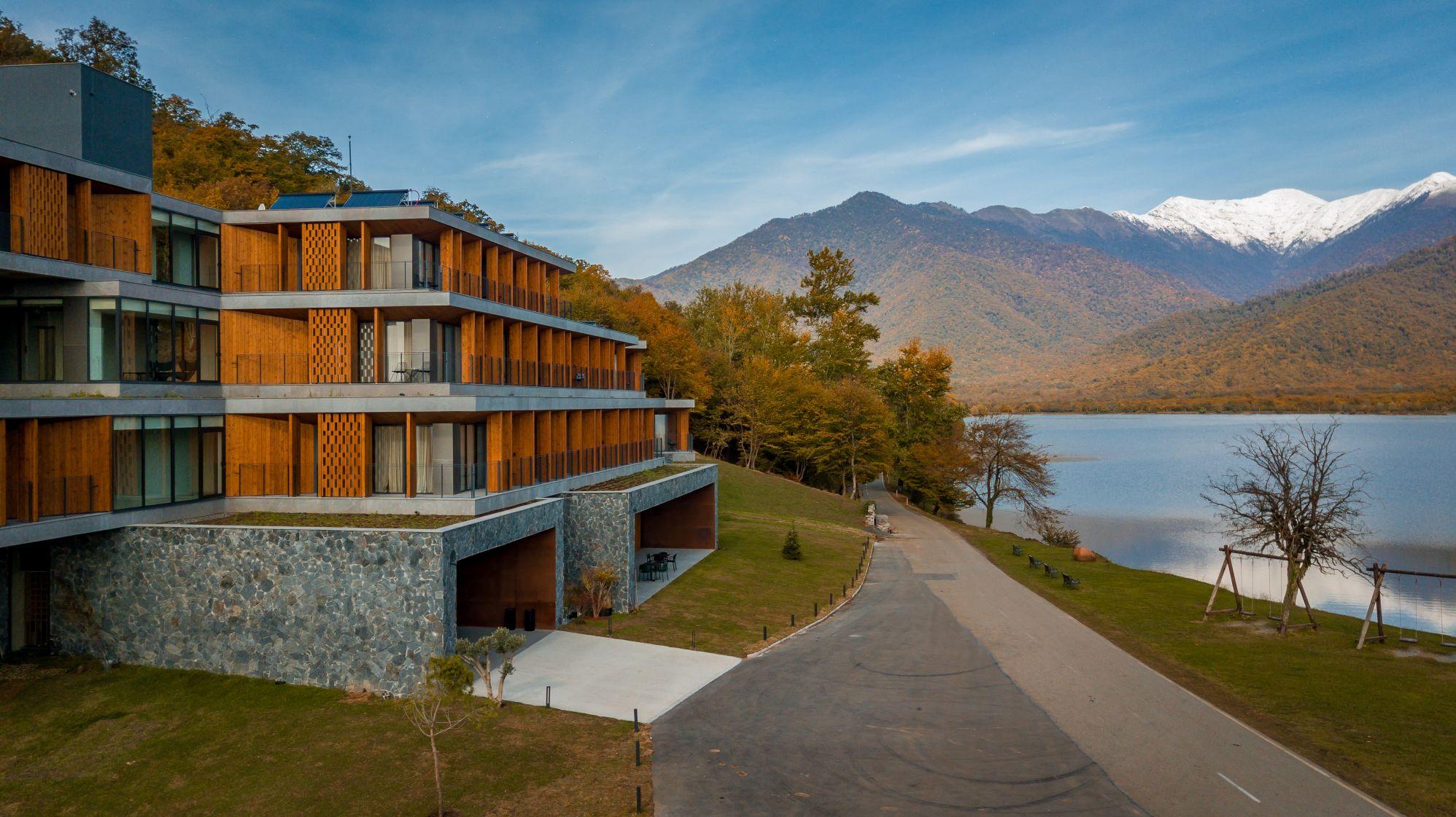 kvareli lake resort in kakheti