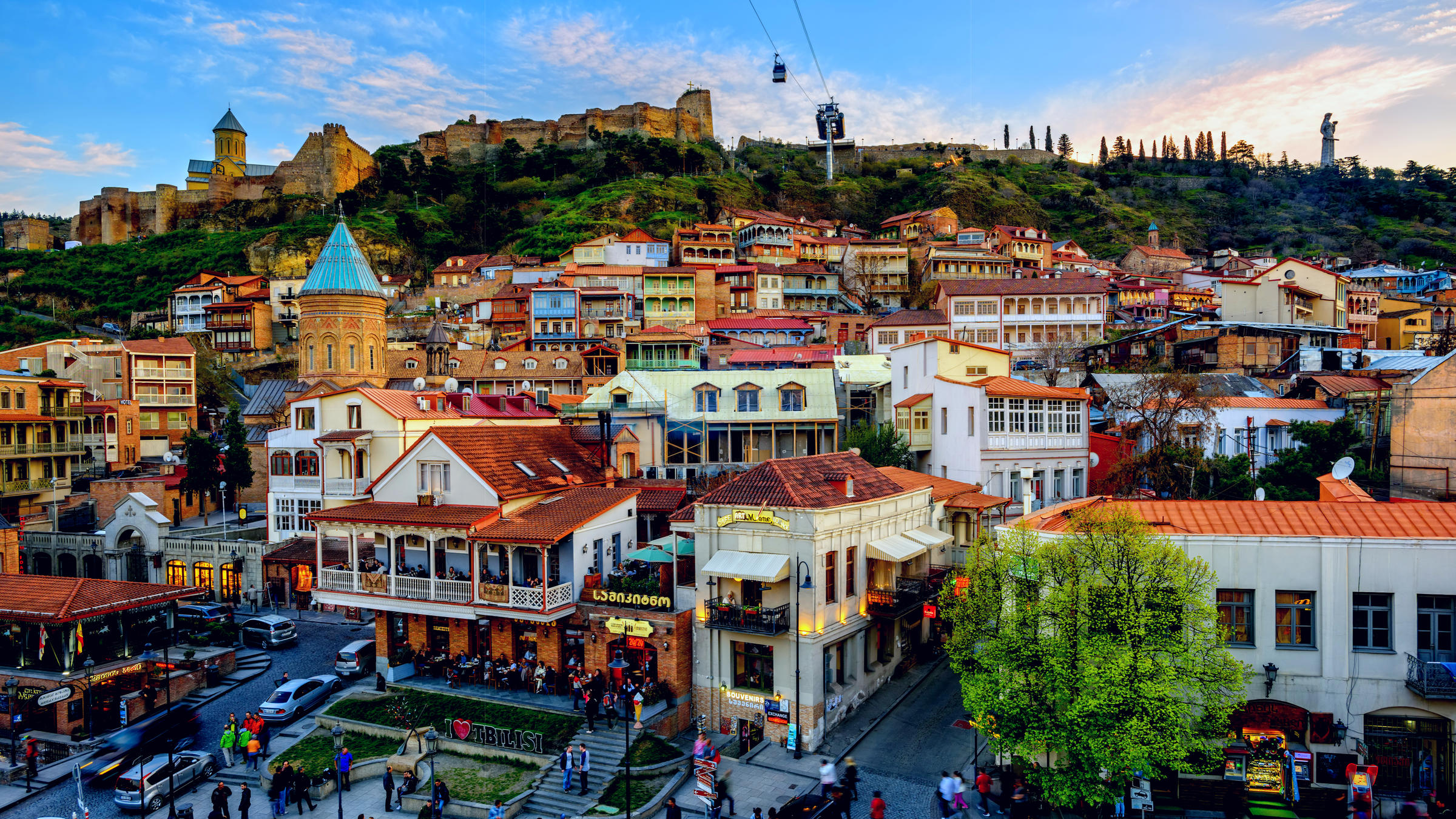 places to visit in georgia tbilisi during winter