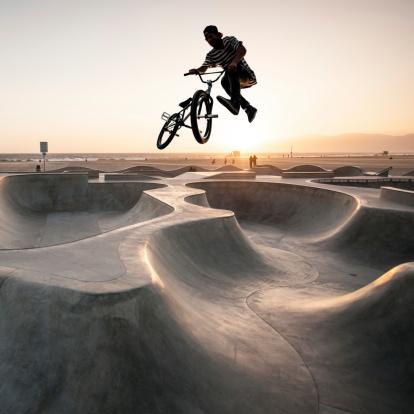 extreme sports biking